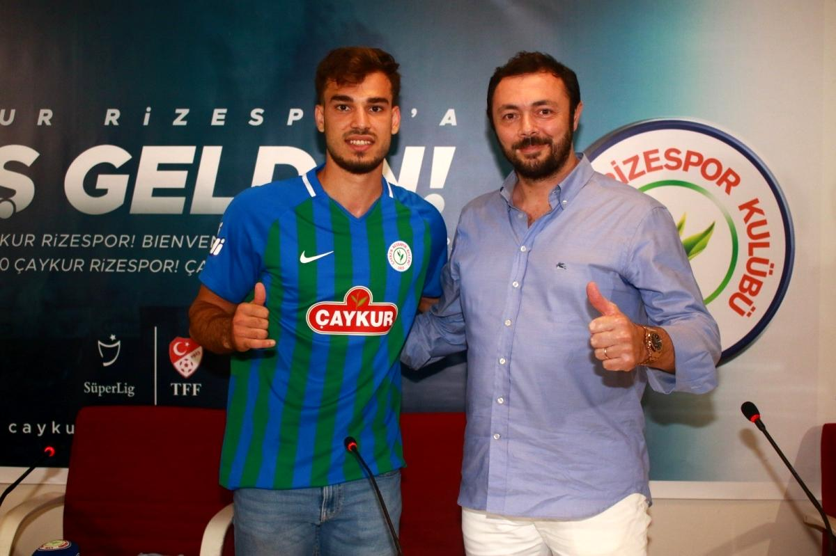 Çaykur Rizespor Cemali Sertel'i 1 yıllığına kiraladı