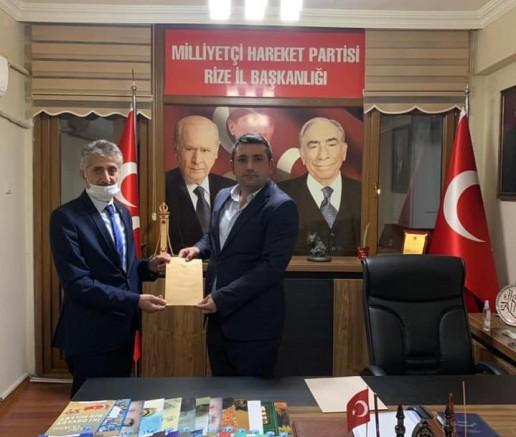 MHP İlçe Başkanı Alparslan Hemşin İçin Bir Dosya Hazırladı