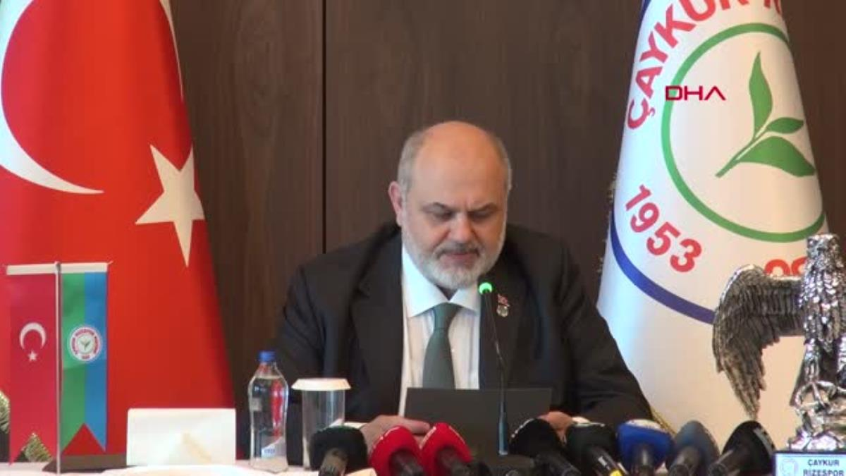 SPOR Çaykur Rizespor'da Kıran adaylığını açıkladı
